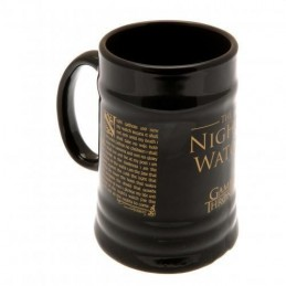GAME OF THRONES NIGHT WATCH CERAMIC STEINS MUG