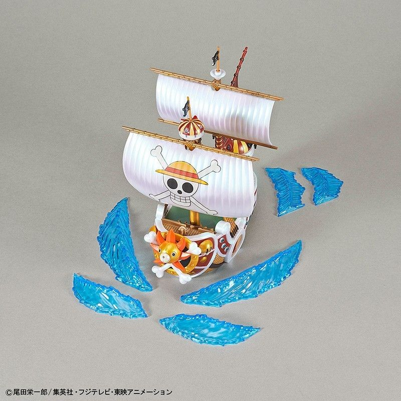 BANDAI ONE PIECE GRAND SHIP COLLECTION THOUSAND SUNNY 20TH ANNIVERSARY MODEL KIT
