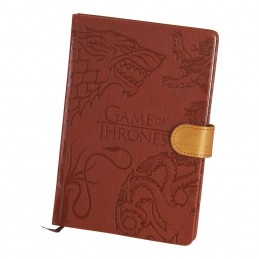GAME OF THRONES HOUSE SIGILS NOTEBOOK PREMIUM - TACCUINO SIMILPELLE 15X21CM