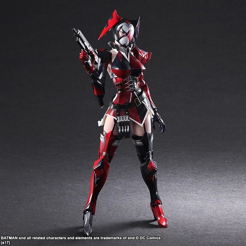 SQUARE ENIX HARLEY QUINN PLAY ARTS KAI VARIANT BY NOMURA PAK ACTION FIGURE