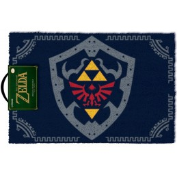 LEGEND OF ZELDA SHIELD DOORMAT ZERBINO TAPPETINO 60x40cm