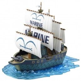 BANDAI ONE PIECE GRAND SHIP COLLECTION MARINE WARSHIP MODEL KIT