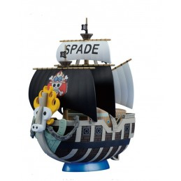ONE PIECE GRAND SHIP COLLECTION SPADE PIRATED SHIP MODEL KIT BANDAI