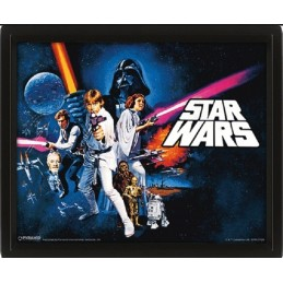 STAR WARS A NEW HOPE LENTICULAR 3D POSTER 25X20CM