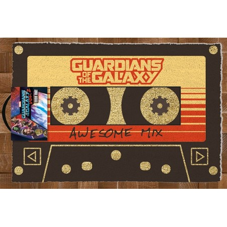 GUARDIANS OF THE GALAXY TAPE DOORMAT ZERBINO 40X60CM