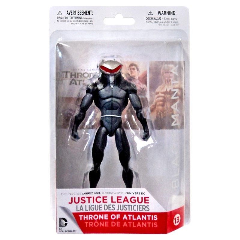 DC COMICS THRONE OF ATLANTIS - BLACK MANTA ACTION FIGURE DC COLLECTIBLES