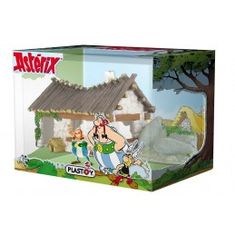 ASTERIX - OBELIX HOUSE WITH FIGURE DIORAMA