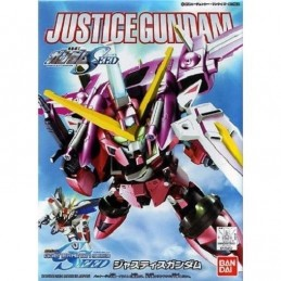 BANDAI LEGEND BB GUNDAM JUSTICE 10 CM MODEL KIT ACTION FIGURE