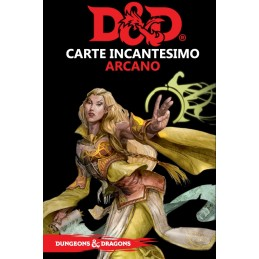 ASMODEE DUNGEONS AND DRAGONS 5 EDIZIONE CARTE INCANTESIMO ARCANO ITALIANO