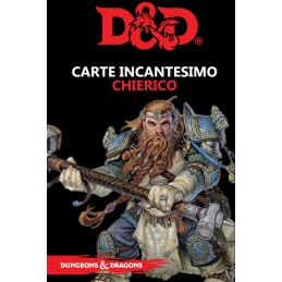 DUNGEONS AND DRAGONS 5 EDIZIONE CARTE INCANTESIMO CHIERICO ITALIANO