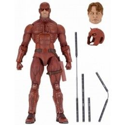 NECA MARVEL CLASSIC DAREDEVIL 45CM SUPER POSEABLE 1/4 ACTION FIGURE