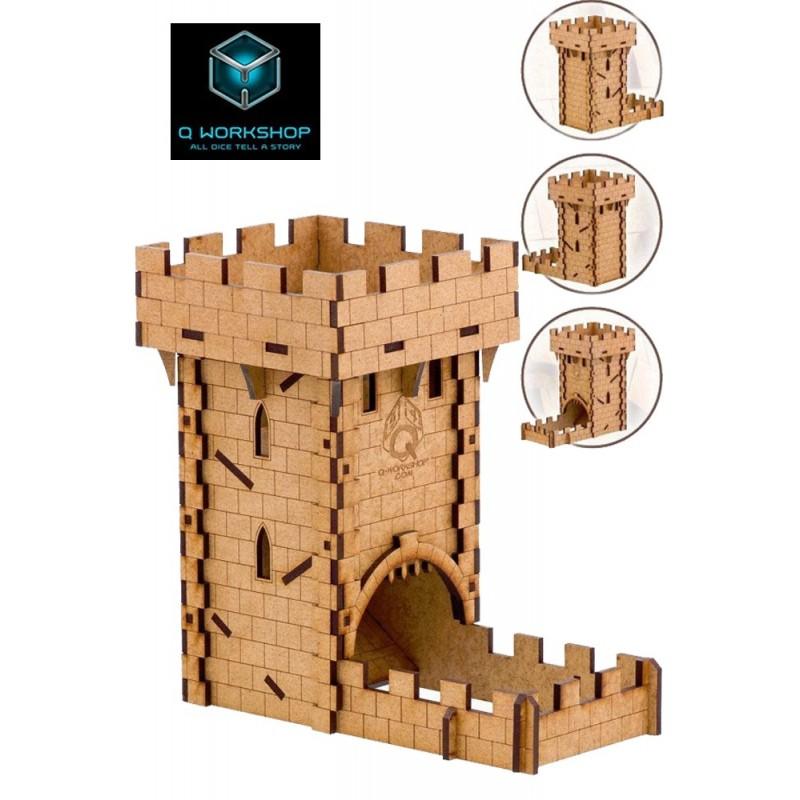 HUMAN DICE TOWER TORRE IN LEGNO LANCIA DADI