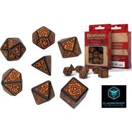 PATHFINDER HELL'S VENGEANCE DICE SET 7 DADI