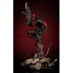 MARVEL UNCANNY X-FORCE DEADPOOL 1/6 SCALE STATUE 46CM FIGURE