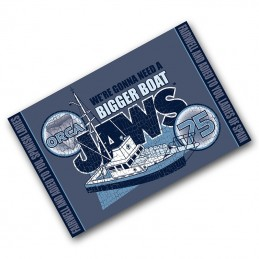 JAWS LO SQUALO ORCA BEACH BATH TOWEL TELO DA MARE 91x60cm FACTORY ENTERTAINMENT