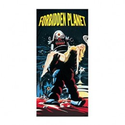 FORBIDDEN PLANET ROBBIE ROBOT BEACH BATH TOWEL TELO DA MARE 150X70CM