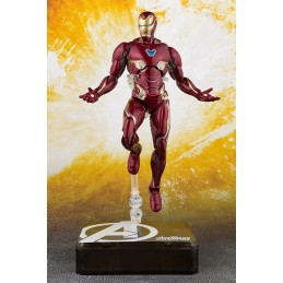 AVENGERS INFINITY WAR - IRON MAN MARK 50 + TAMASHII STAGE S.H. FIGUARTS ACTION FIGURE