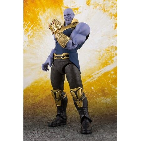 AVENGERS INFINITY WAR THANOS S.H. FIGUARTS ACTION FIGURE