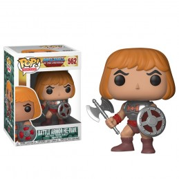 FUNKO POP! MASTERS OF THE UNIVERSE - BATTLE ARMOR HE-MAN BOBBLE HEAD KNOCKER FIGURE