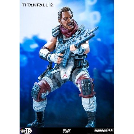TITANFALL 2 - BLISK COLOR TOPS ACTION FIGURE