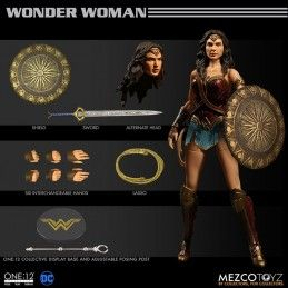 DC COMICS WONDER WOMAN CLOTH ONE:12 ACTION FIGURE
