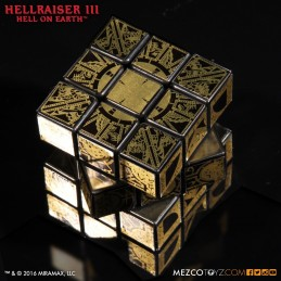 HELLRAISER 3 HELL ON EARTH LAMENT CONFIGURATION PUZZLE CUBO DI RUBIK MEZCO TOYS