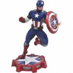 MARVEL GALLERY CAPTAIN AMERICA FIGURE STATUE DIAMOND SELECT