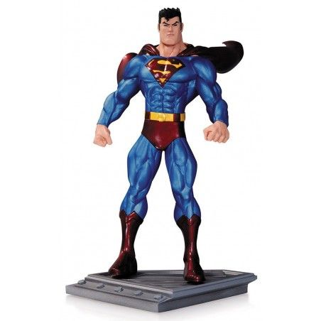SUPERMAN THE MAN OF STEEL BY ED MCGUINNESS STATUE FIGURE