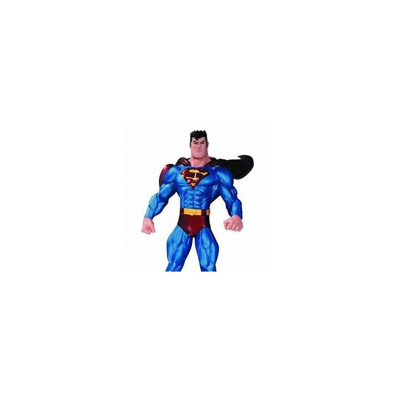 SUPERMAN THE MAN OF STEEL BY ED MCGUINNESS STATUE FIGURE DC COLLECTIBLES
