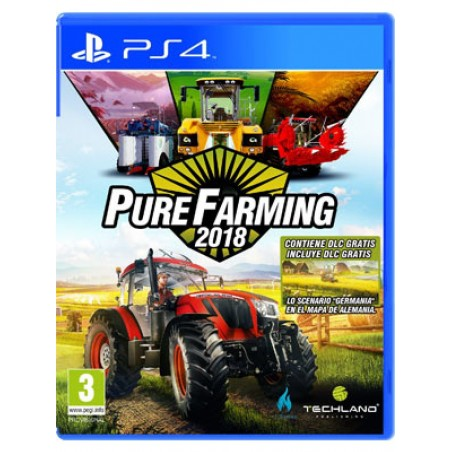 PURE FARMING 2018 PS4 PLAYSTATION 4 NUOVO ITALIANO