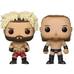 FUNKO POP! WWE - ENZO AMORE AND BIG CASS 2-PACK BOBBLE HEAD KNOCKER FUNKO