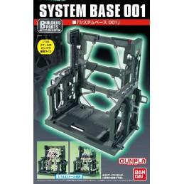 BANDAI GUNDAM MODEL KIT SYSTEM BASE 001 EXP003 HIGH GRADE 1/144