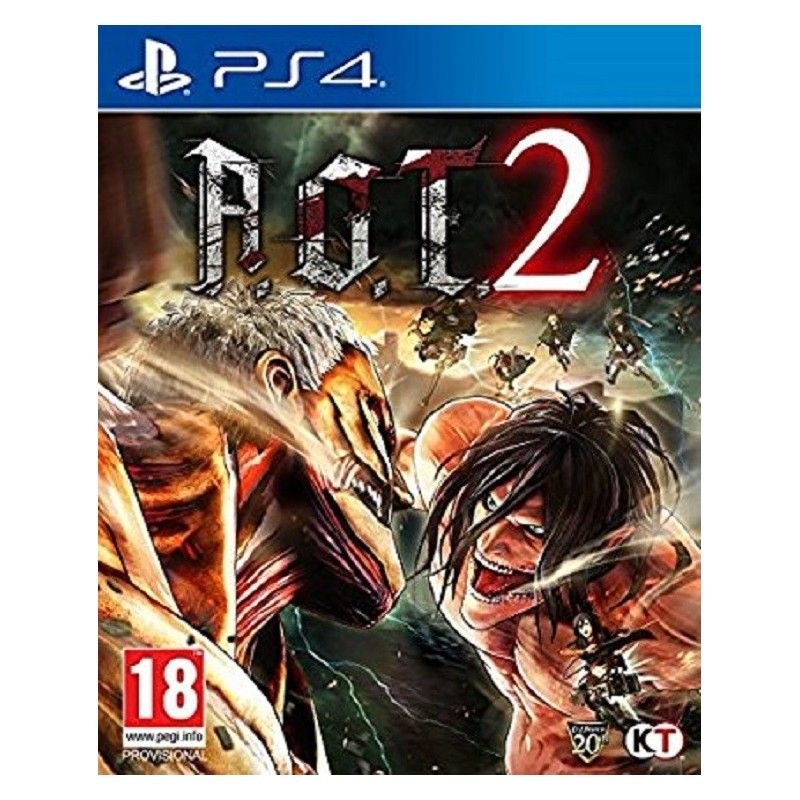 ATTACK ON TITAN 2 PS4 PLAYSTATION 4 NUOVO ITALIANO