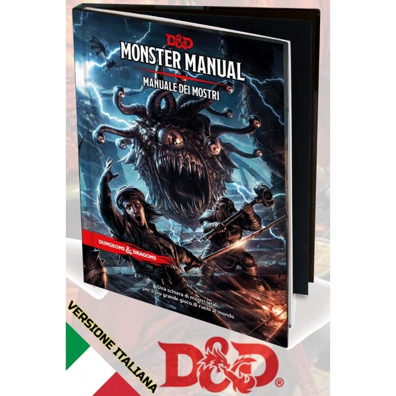 DUNGEONS AND DRAGONS 5 EDIZIONE MANUALE DEI MOSTRI ITALIANO ASMODEE