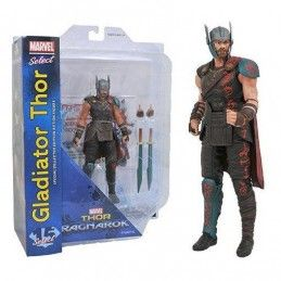 MARVEL SELECT THOR RAGNAROK - GLADIATOR THOR ACTION FIGURE DIAMOND SELECT