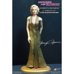 MARILYN MONROE AS LORELEI LEE GOLD DRESS 30 CM ACTION FIGURE STAR ACE