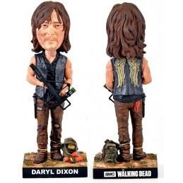 THE WALKING DEAD - DARYL DIXON HEADKNOCKER BOBBLE HEAD ACTION FIGURE ROYAL BOBBLES
