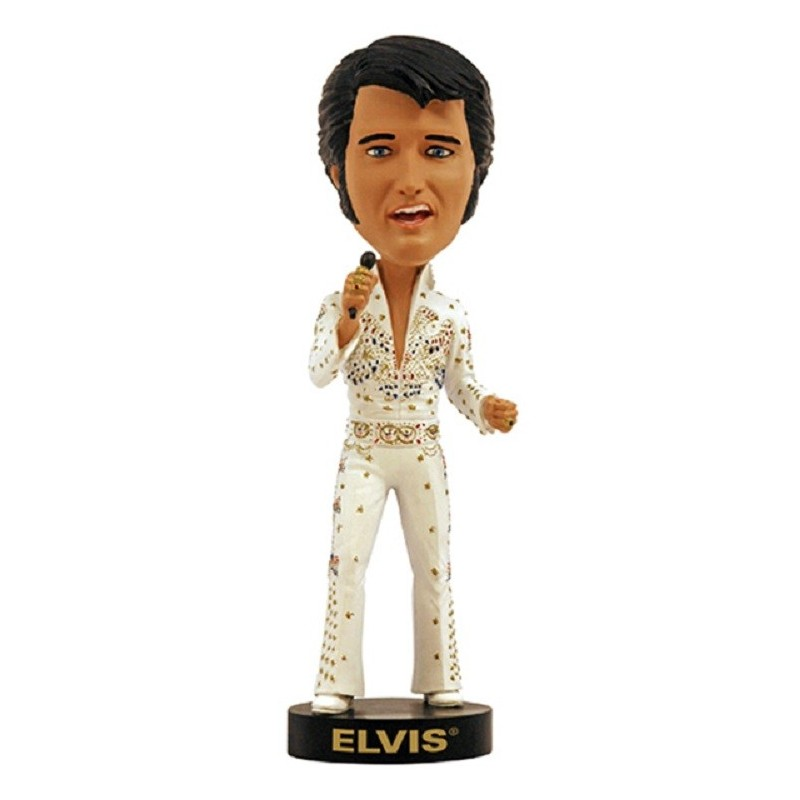 ELVIS PRESLEY HEADKNOCKER BOBBLE HEAD ACTION FIGURE ROYAL BOBBLES