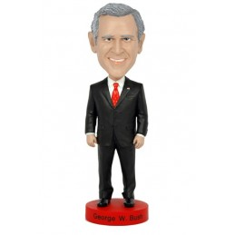 GEORGE W BUSH HEADKNOCKER BOBBLE HEAD ACTION FIGURE ROYAL BOBBLES
