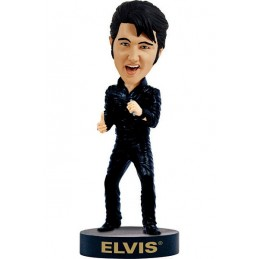 ELVIS PRESLEY BLACK HEADKNOCKER BOBBLE HEAD ACTION FIGURE ROYAL BOBBLES