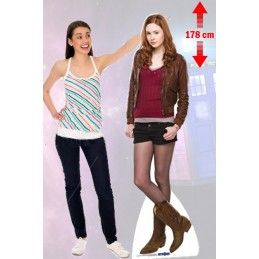 DOCTOR WHO AMY POND CUTOUT STAR