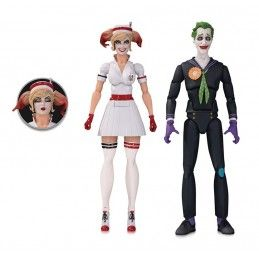 DC COLLECTIBLES DC BOMBSHELLS HARLEY QUINN NURSE AND JOKER 2-PACK ACTION FIGURE