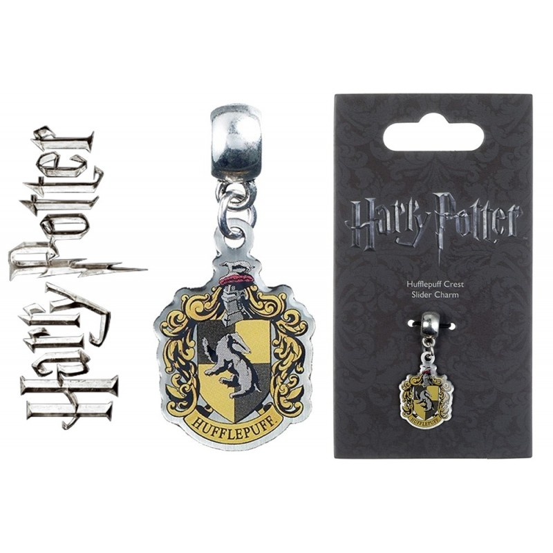 CARAT HARRY POTTER - HUFFLEPUFF SLIDER CHARM CIONDOLO IN METALLO