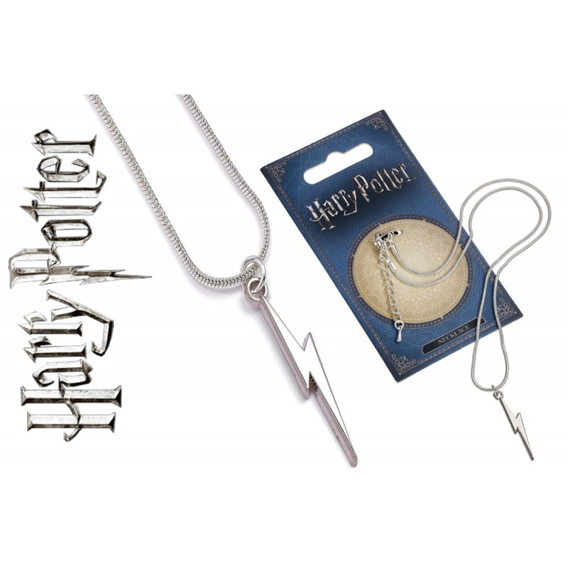 CARAT HARRY POTTER - LIGHTENING BOLT NECKLACE CIONDOLO IN METALLO