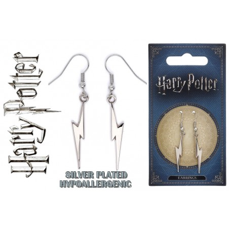HARRY POTTER - LIGHTENING BOLT EARRINGS ORECCHINI