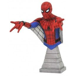DIAMOND SELECT MARVEL SPIDER-MAN HOMECOMING WEB GLIDER RESIN BUST STATUE FIGURE