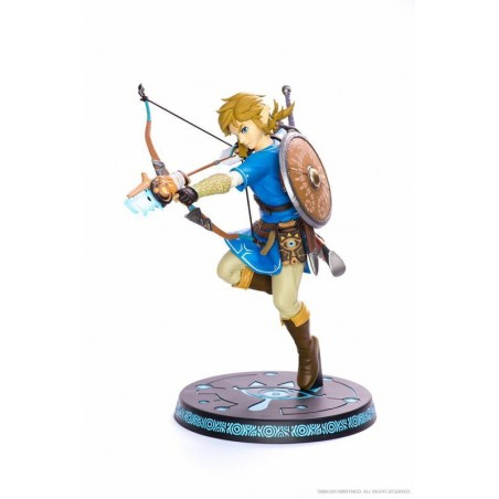 THE LEGEND OF ZELDA BREATH OF THE WILD - LINK STATUE 25CM FIGURE