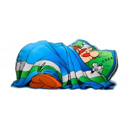 ASTERIX OBELIX SLEEPING FORM CUSHION PILLOW CUSCINO
