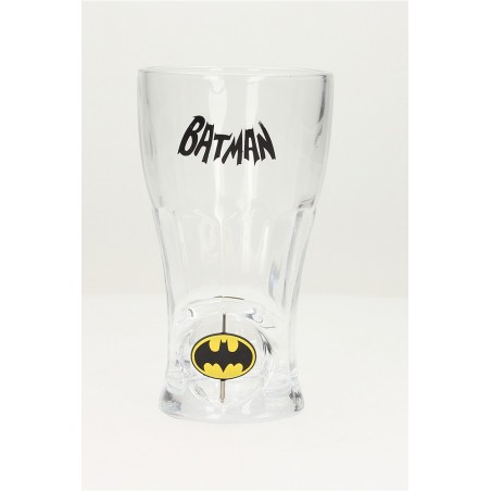 BATMAN SPINNING LOGO SODA GLASS BICCHIERE DI VETRO
