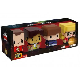 THE BIG BANG THEORY PIXEL FIGURE SET 2 7 CM SD TOYS